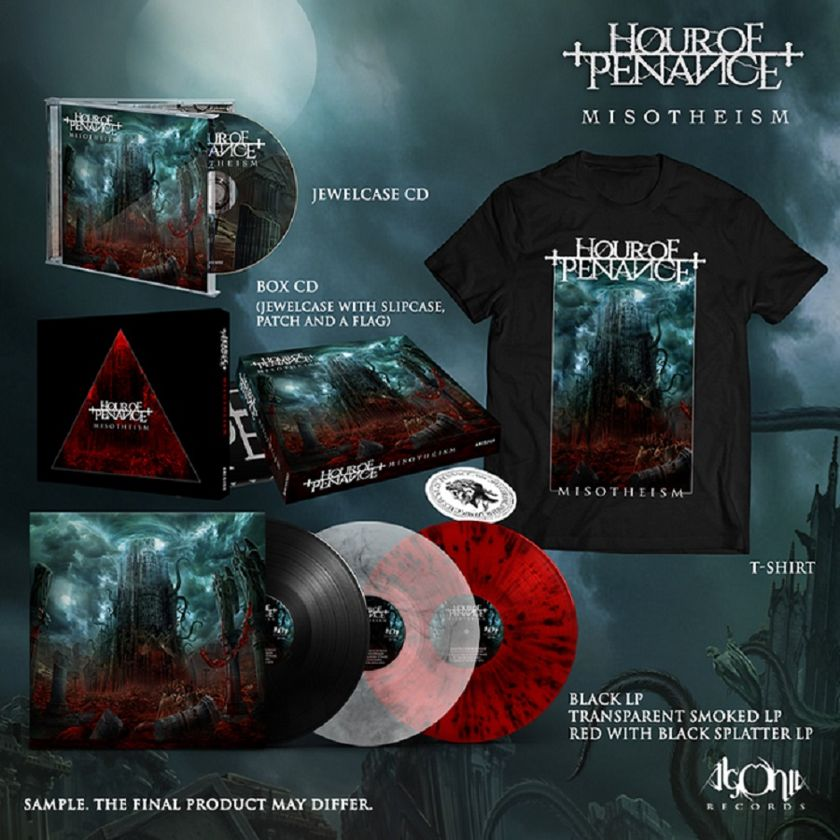 HOUR OF PENANCE merch